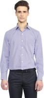 Richlook Formal Shirts (Men's) - Richlook Men's Checkered Formal White Shirt