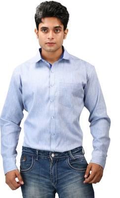 Relish Men's Solid Formal Light Blue, Blue Shirt