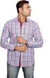 Lomhara Men's Checkered Casual Multicolo...