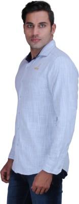 Alamurit Men's Solid Casual Reversible White Shirt