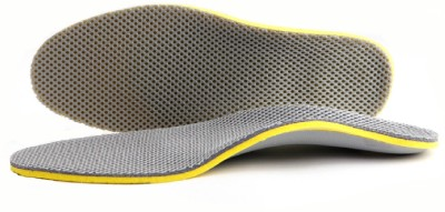 Footful Gridding Arch Support PU Foam Full Length Regular Shoe Insole