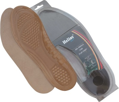 Helios Gel Insole For Flat Foot Gel Full Length Regular Shoe Insole
