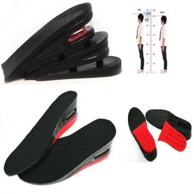 Sangitap Combo offer of Red Insole 1ps And Mid CupInsole 1ps Gel, PU Foam, Silicone Full Length Regular, Orthotic, Sports Shoe Insole