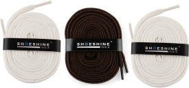 Shoeshine India A16 Shoe Lace(Multi Set of 3)