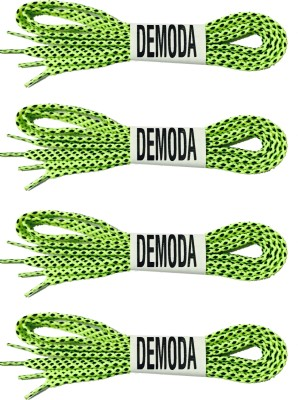 Demoda Doublecolor Green Shoe Lace