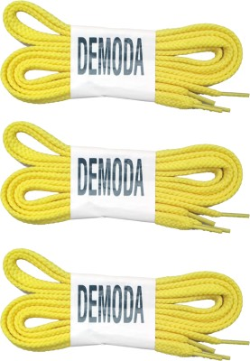 Demoda Flat Yellow Shoe Lace