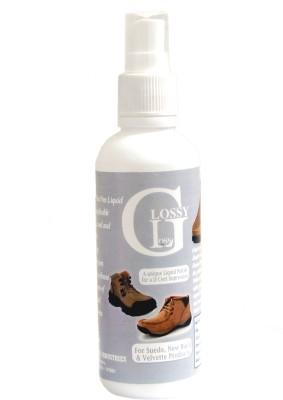 GLOSSY GLOSS Natural Polish for all shoes (Spray) Nubuck Shoe Liquid Polish