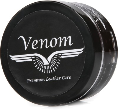 Venom Brown Leather Shoe Cream(Brown)
