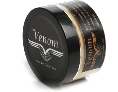 Venom High gloss Leather Shoe Cream(Light Brown)