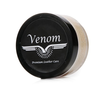 Venom Natural Leather Shoe Cream(Natural)