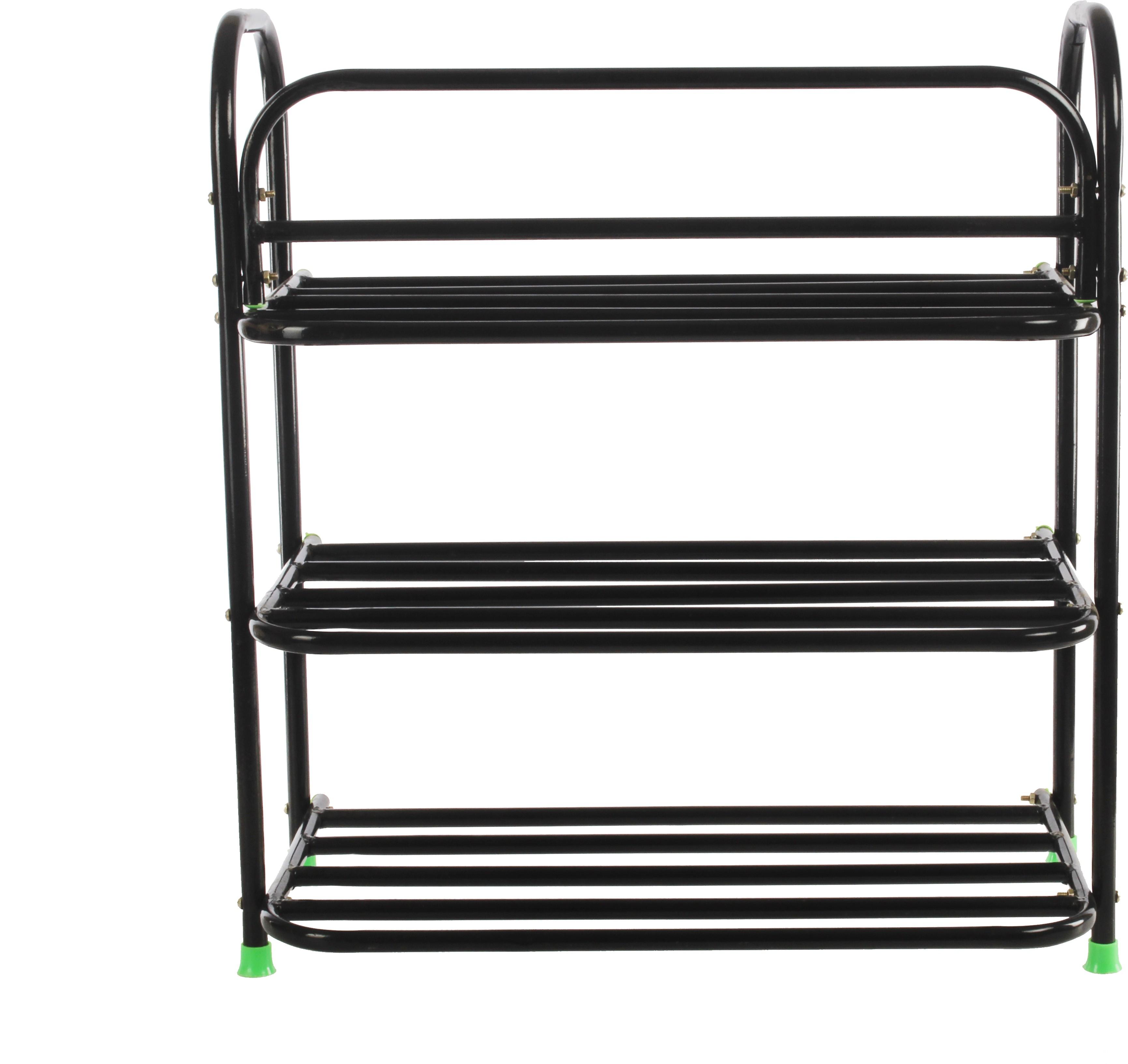 View Benesta Steel Shoe Cabinet(Black, 3 Shelves) Furniture (Benesta)