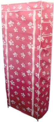 Etsi Bitsi Fabric, Aluminium, Plastic Shoe Cabinet