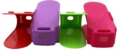 ALTG Plastic Underbed Shoe Rack
