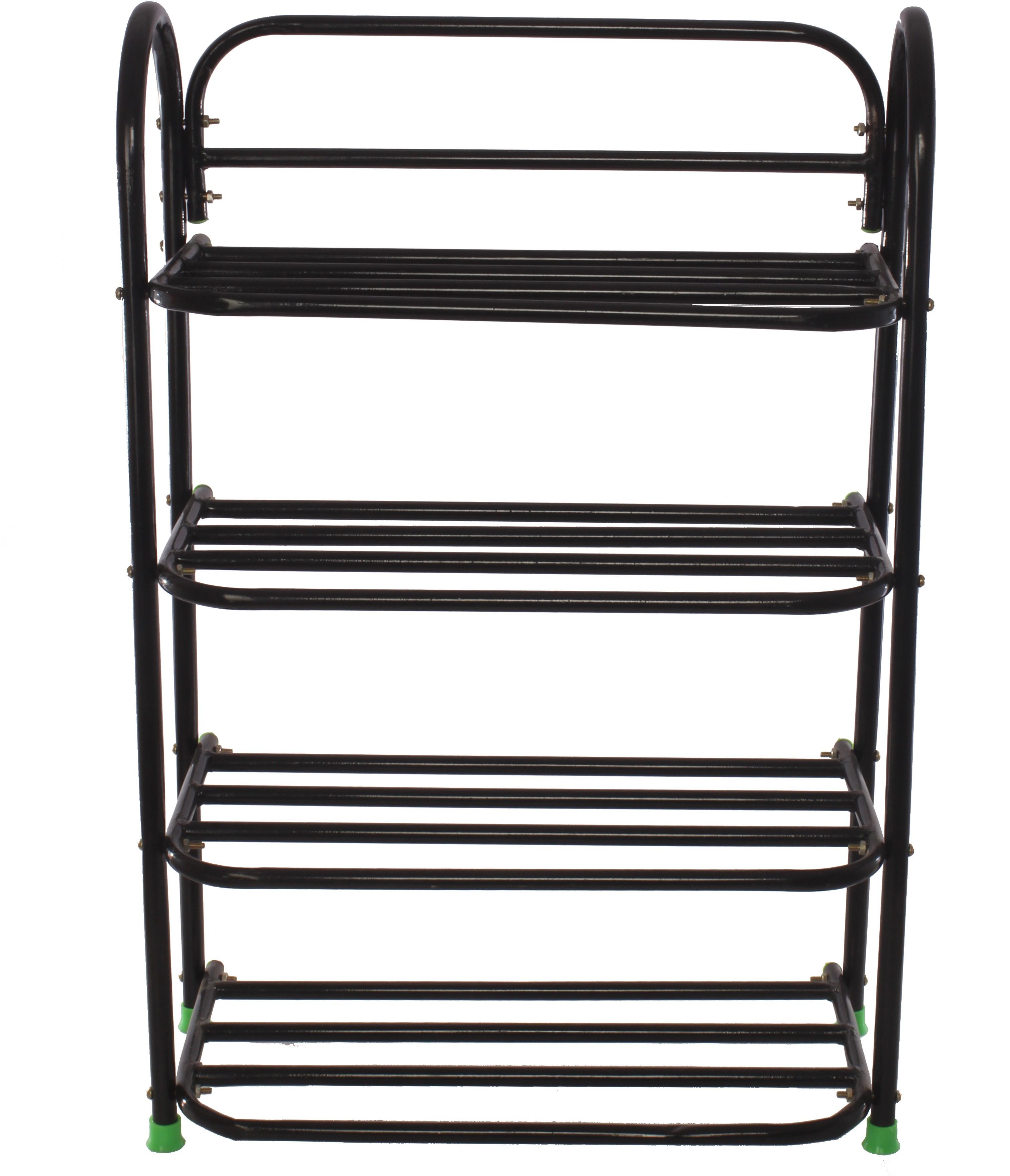 View Benesta Steel Shoe Cabinet(Black, 4 Shelves) Furniture (Benesta)