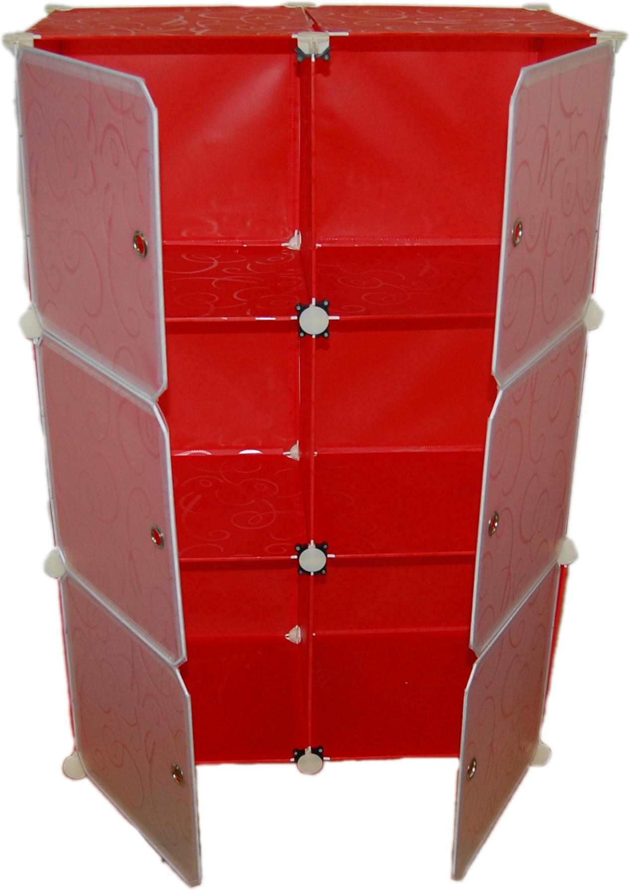 View Chrome Nylon Shoe Cabinet Furniture (Chrome)