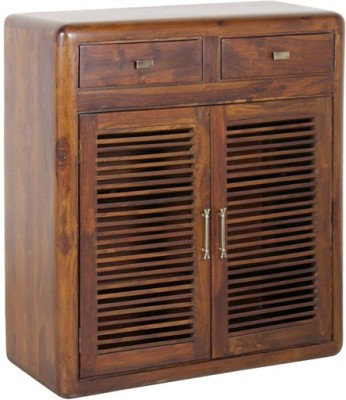 Smart Choice Furniture Rosewood (Sheesham)_JISR01_Matte finish Solid Wood Shoe Cabinet