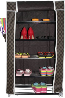 Inventure Retail Stainless Steel Standard Shoe Rack
