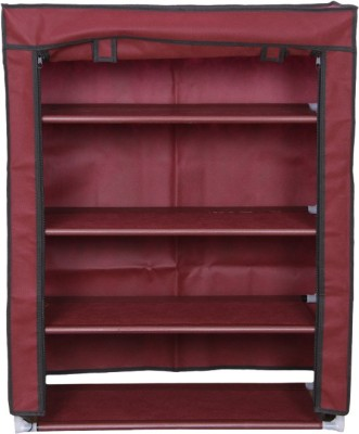 MOG 4 Layer Aluminium, Cotton Shoe Cabinet