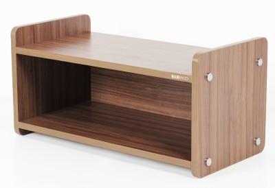 Bluewud Engineered Wood Shoe Cabinet(Brown, 2 Shelves)