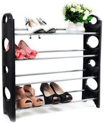 EI 12 Pair Plastic Standard Shoe Rack