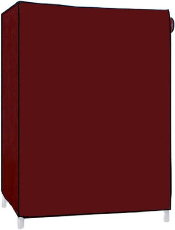 Pindia 4 Layer Maroon Design Rack Organizer Polyester Shoe Cabinet(Maroon, 4 Shelves)