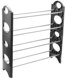 Swarish Stainless Steel Shoe Cabinet