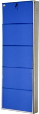 Delite Kom Metal Shoe Cabinet(Blue, 5 Shelves)