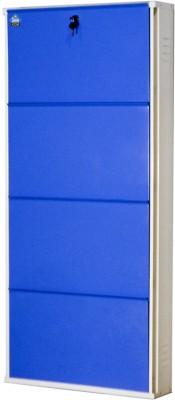 Delite Kom Metal Shoe Cabinet(Blue, 4 Shelves)