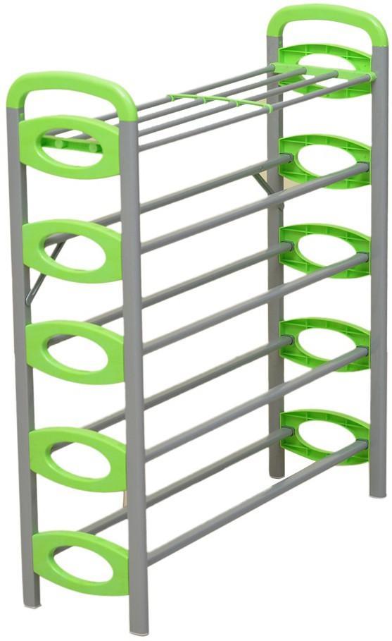 View Kawachi Carbon Steel Shoe Cabinet(Green, 6 Shelves) Furniture (Kawachi)