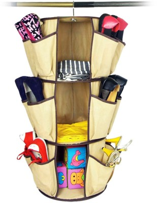 THD Polyester Hanging Shoe Rack
