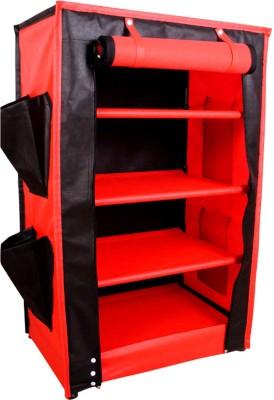 Raunak Designer Almira Stainless Steel Standard Shoe Rack
