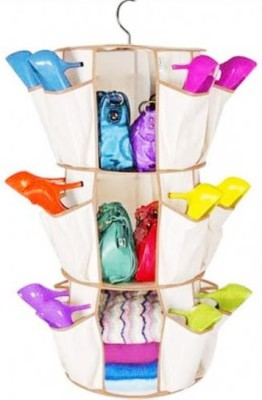 Shopper52 Polypropylene Hanging Shoe Rack