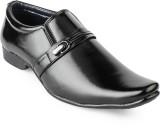 Foot n Style Slip On Shoes (Black)