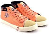 Lee Cooper Canvas Mid Ankle Sneakers (Pi...