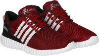 Kraasa Sports Running Shoes, Walking Shoes, Cycling Shoes, Cricket Shoes(Red) best price on Flipkart @ Rs. 499