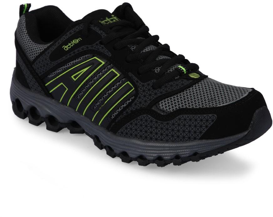 Action Men SP-58 Black Walking Shoes