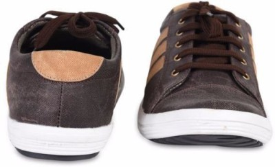 M-Toes M Toes Men Brown Synthetic Casual Shoes Corporate Casuals
