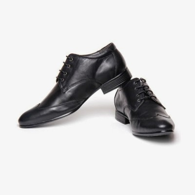 Bacca Bucci Smart Black Lace Up Shoes