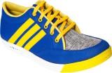 Gito Casual Shoes (Blue, Yellow)