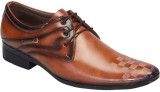 Footoes Lace Up Shoes (Tan)