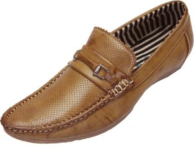 Shoebook Trendy Casual Beige Loafers(Beige)