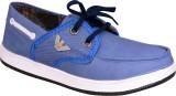 Fabrico Via Canvas Shoes (Blue)