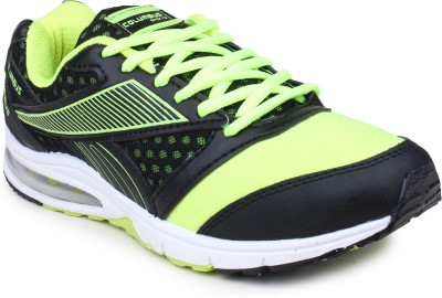 Columbus Basketball Shoes(Black, Green)