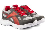 Golden Sparrow Running Shoes (Grey, Red)