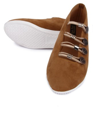 Cute Feet Brown Color Casual Shoes For All Ocassions