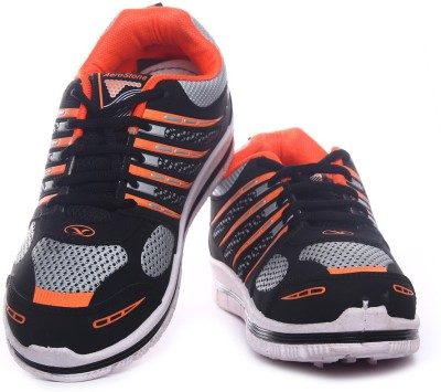 Aerostone ARS-TAP-8-BLACK-ORANGE Running Shoes