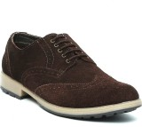 Tanny Shoes Lace Up (Brown)