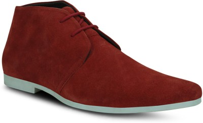 Get Glamr Red Men's Casual Shoes