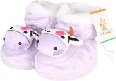 Ole Baby Soft Furry 3d Ole Toons Booties