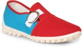 Thisrupt Canvas Shoes (Red, Blue)